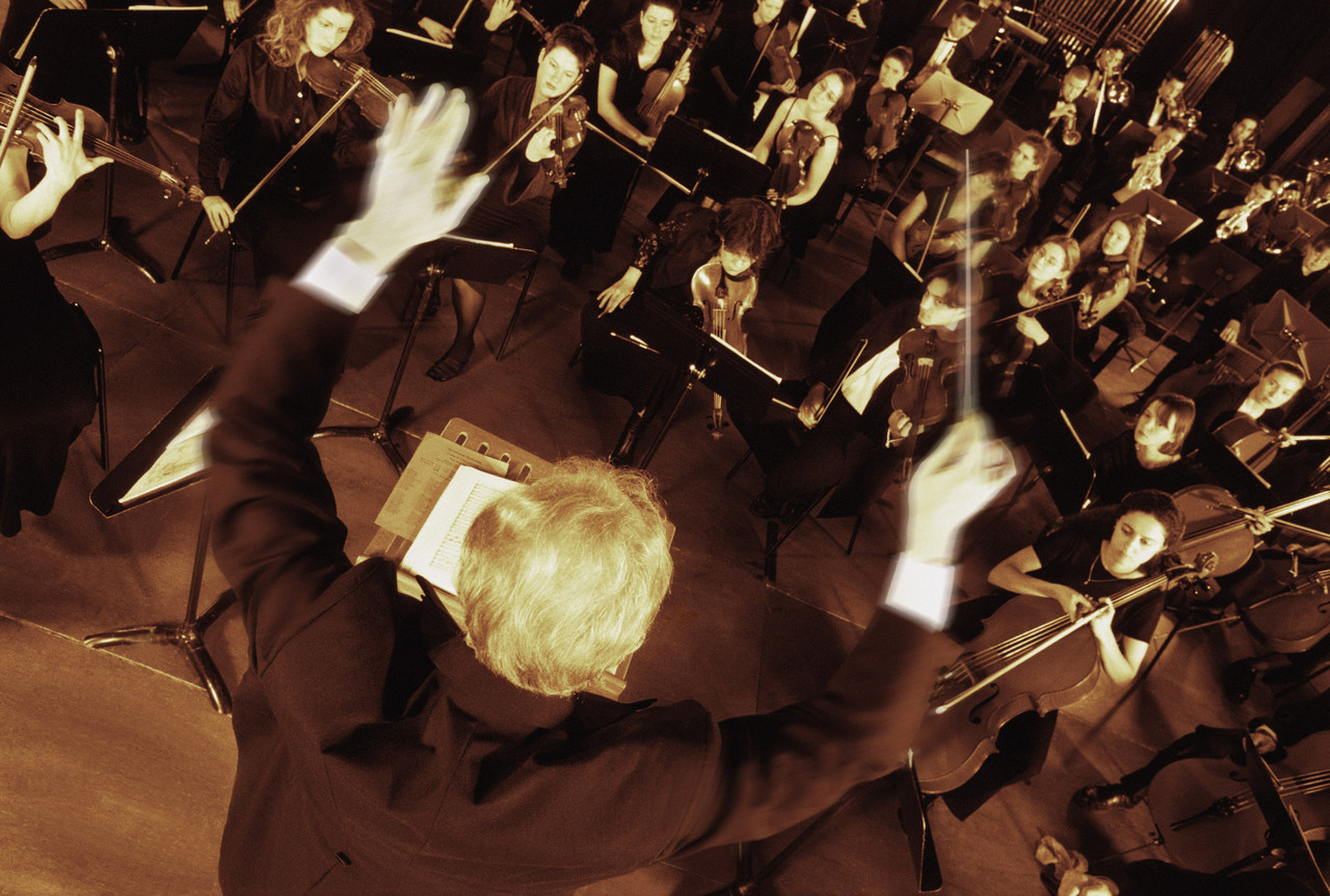A Business Manager is like an Orchestra Conductor
