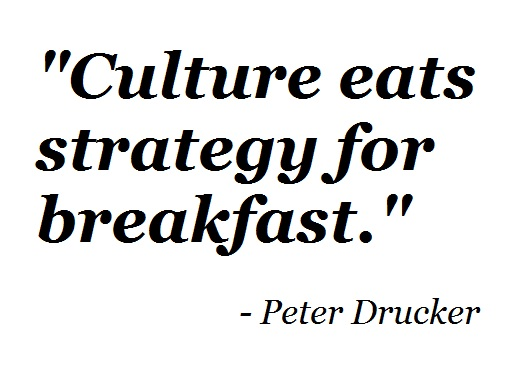 5 Reasons Culture Eats Strategy for Breakfast